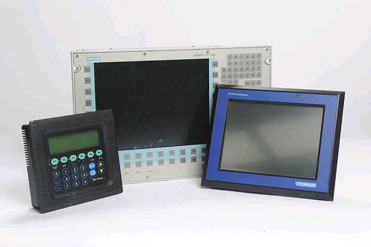 Industrial HMIs equipment